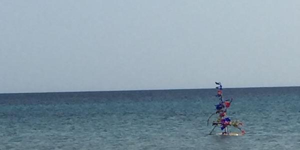 Ikebana per il mare