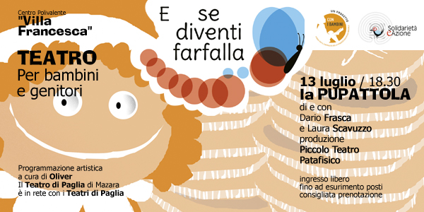 """Il Teatro a """"Villa Francesca"""": LA PUPATTOLA"""