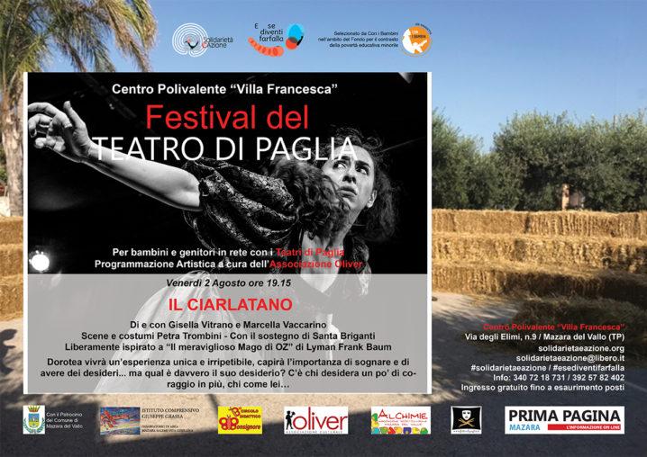 """Festival del Teatro di Paglia """"IL CIARLATANO"""""""