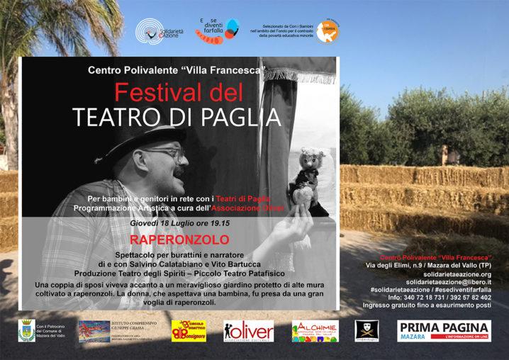 """Festival del Teatro di Paglia """"RAPERONZOLO"""""""