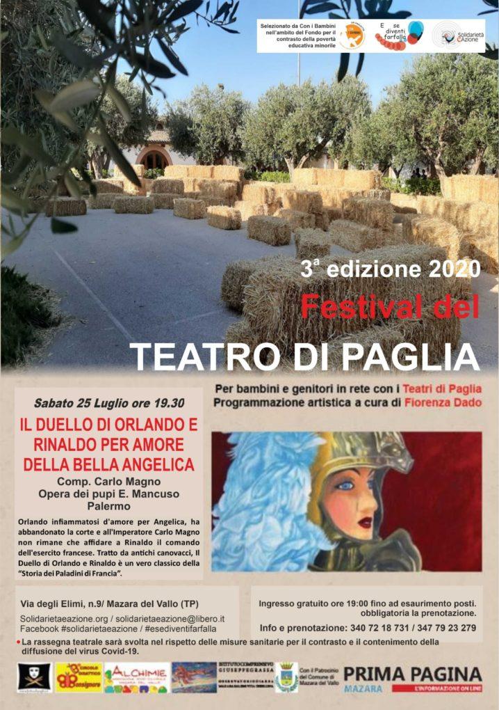 3^ Edizione del Festival del Teatro i Paglia