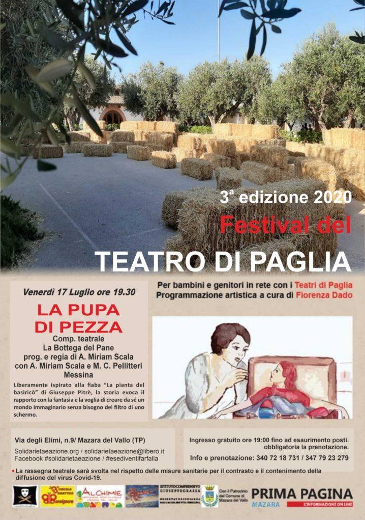 3^ edizione Festival del Teatro di Paglia 2020